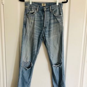 Citizens of Humanity Liya Torn Jeans